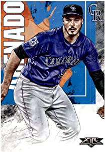 2019 Topps Fire #130 Nolan Arenado NM-MT Colorado Rockies Baseball