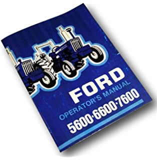 Ford shop manual series 5000 5600 5610 6600 6610 6700 6710 ford 5600 6600 7600 tractor operators owners manual maintenance operation fandeluxe Images