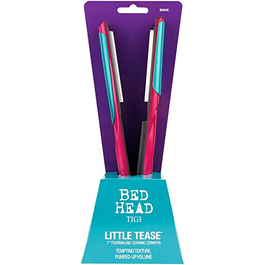 Amazon.com: Bed Head Little Tease Hair Crimper for Outrageous Texture and Volume, 1