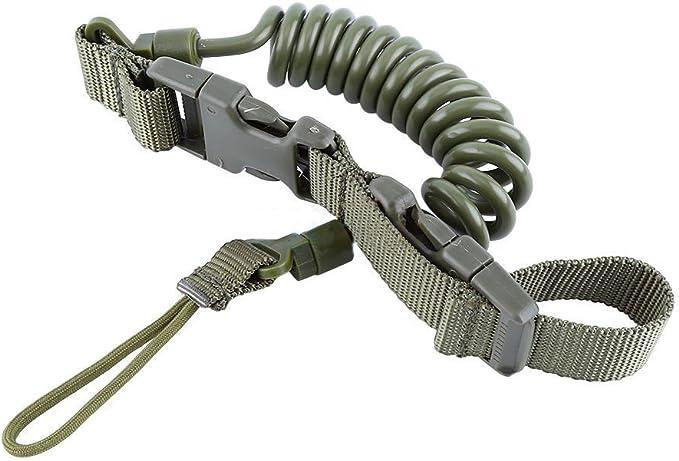 longyitrade Cord/ón t/áctico Nailon el/ástico de liberaci/ón r/ápida para Pistola 150 cm