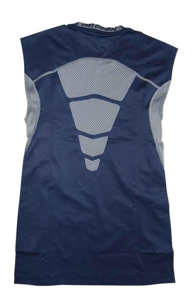 Nike Pro Men's Compression Sleeveless Shirt Navy