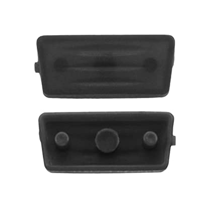 Goma 1 botón negro Repuesto mando botones carcasa llave FIAT ...