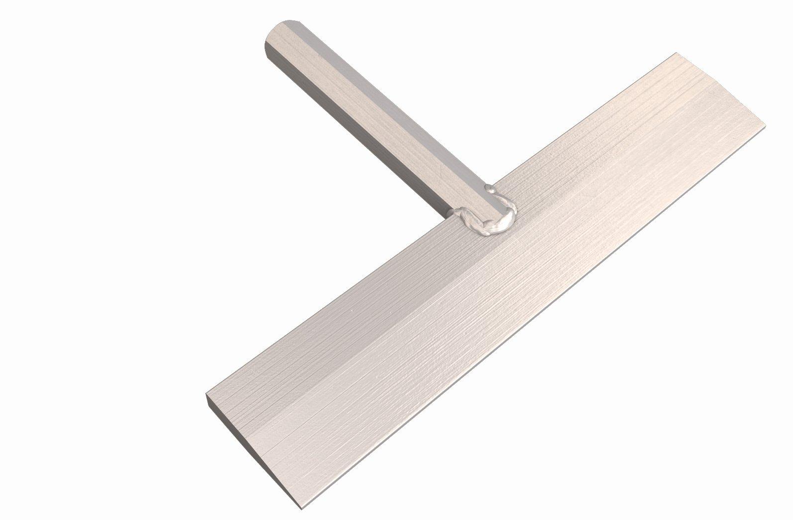 BonWay 32-293 12-Inch Aluminum Detail Chisel