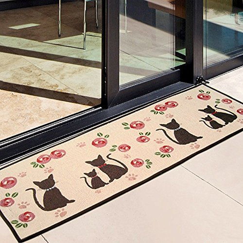-[ Asvert Door Carpet Bath Not-Slip Absorbent Area Rugs For Kitchens/Bathroom/Indoor/Living Room/Be