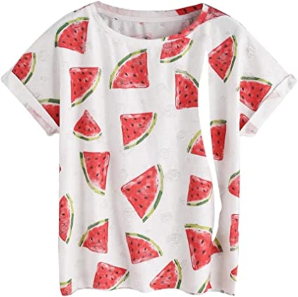Ronamick - Camiseta de manga corta para mujer, para verano ...