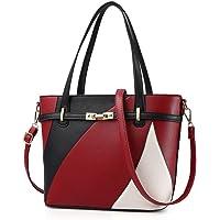 Hot Sale! Clearance! Women Bag,Todaies Women Leather Handbag Shoulder Bag Messenger Satchel Shoulder Crossbody 2017 (29cm(L)14cm(W)25cm(H), Red)