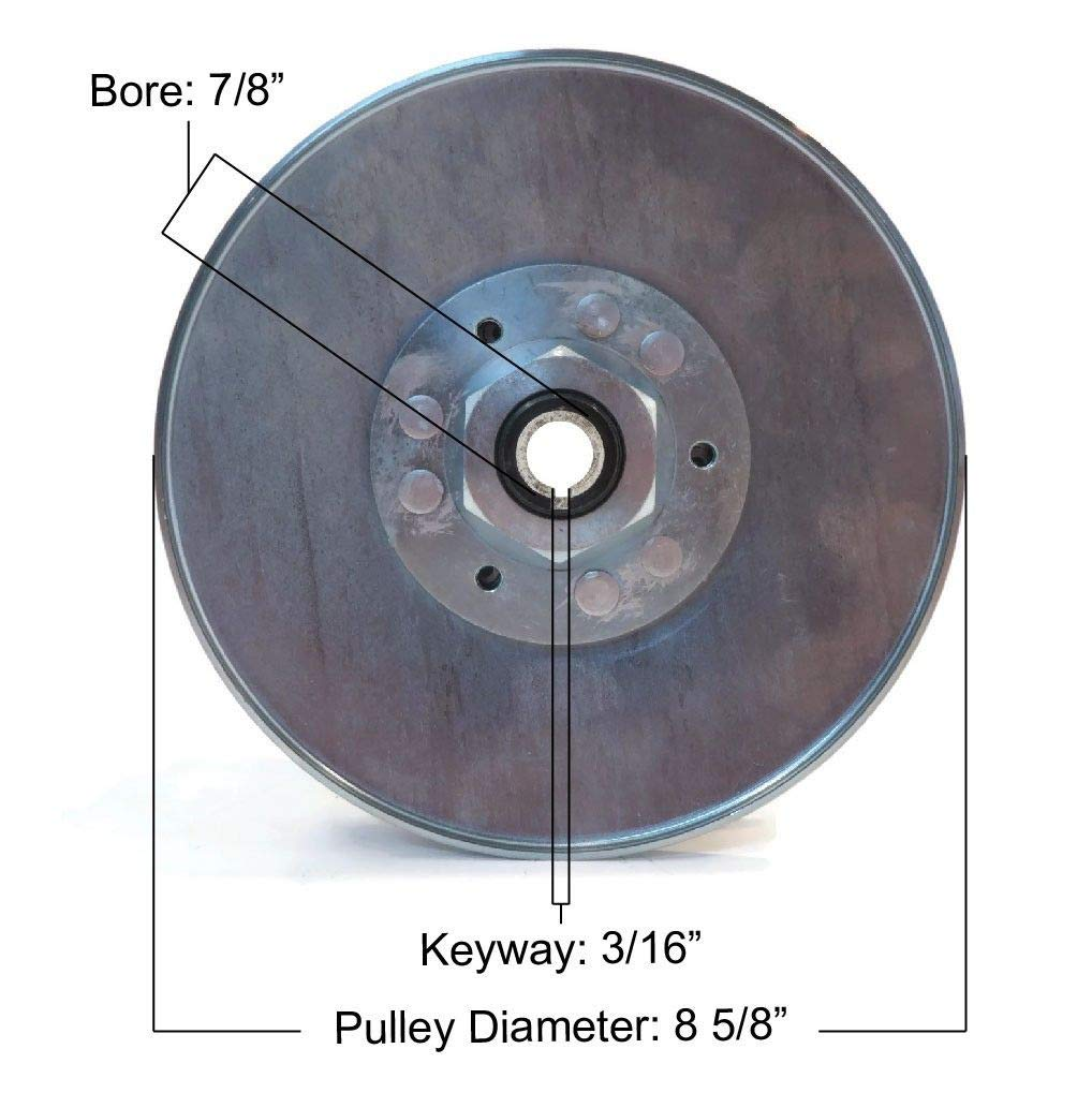 The ROP Shop New Gas Driven Clutch fits Club Car 1984-1996 DS Carryall Turf 1, 2, 6 Salsbury by The ROP Shop (Image #2)