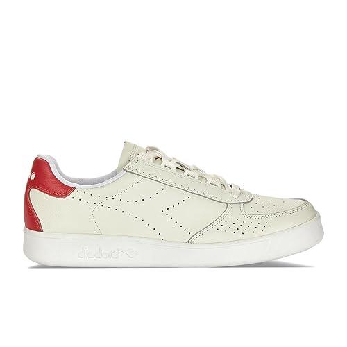 Diadora Men's B.Elite Premium L Low Top Sneakers: Amazon.co