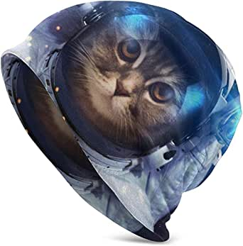 Gorros Unisex Gorros Astronautas Gato En El Espacio Galaxy