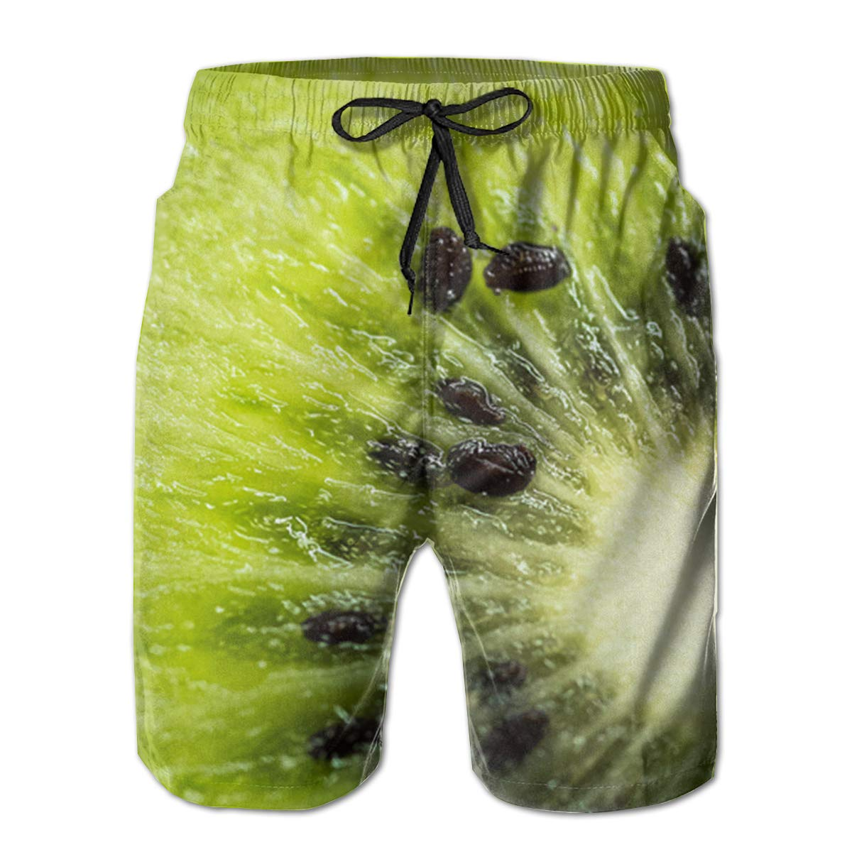 EYFlife Fruit Kiwi Men/â/€s Beach Board Shorts Quick Dry Swim Truck Shorts