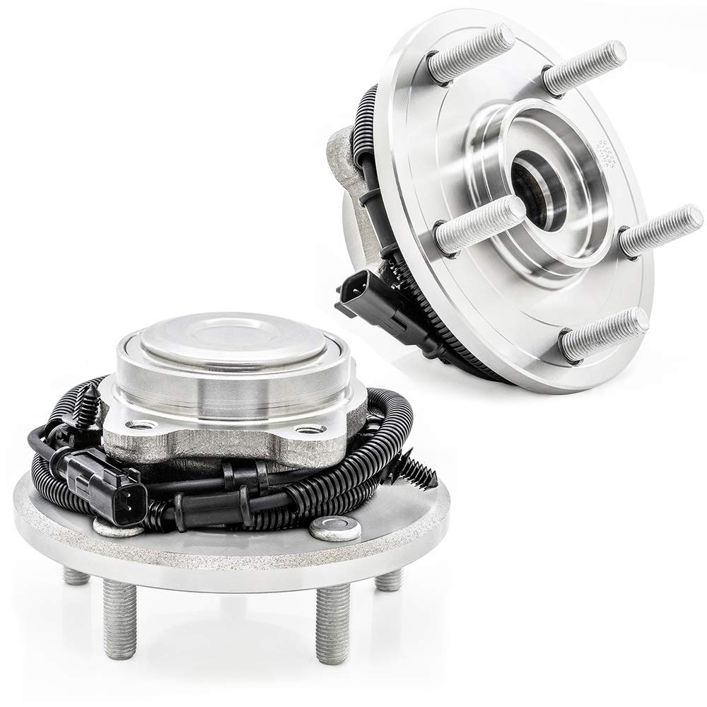 2-Pack//Pair REAR Driver and Passenger Side Wheel Hub Bearing Assembly for 2012-2016 Chrysler Town /& Country 512493 2012-2019 Dodge Caravan 2012-2015 Ram C//V 2012-2013 Volkswagen Routan