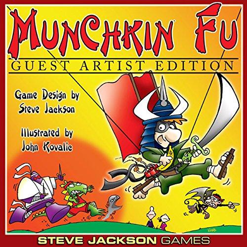 Steve Jackson Games Munchkin Fu Guest Artist Edition Card Game - John Kovalic