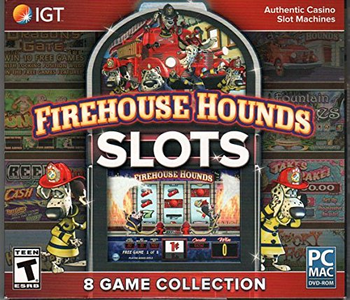 FIREHOUSE HOUNDS SLOTS 8 Game Collection PC & Mac Game NEW (Best Slots To Play At Casino)