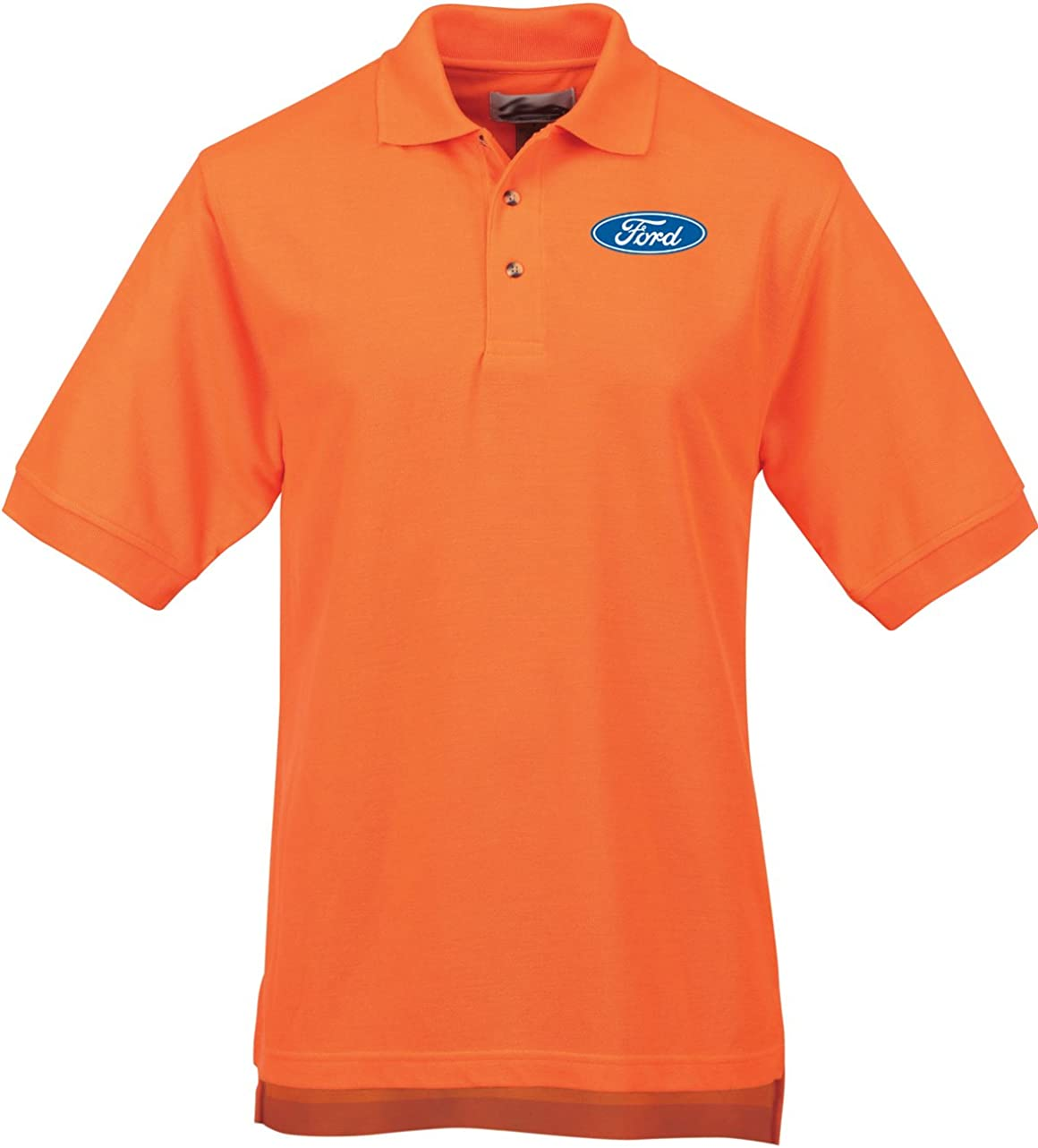 Buy Cool Shirts Mens Ford Oval High Visibility Polo Shirt
