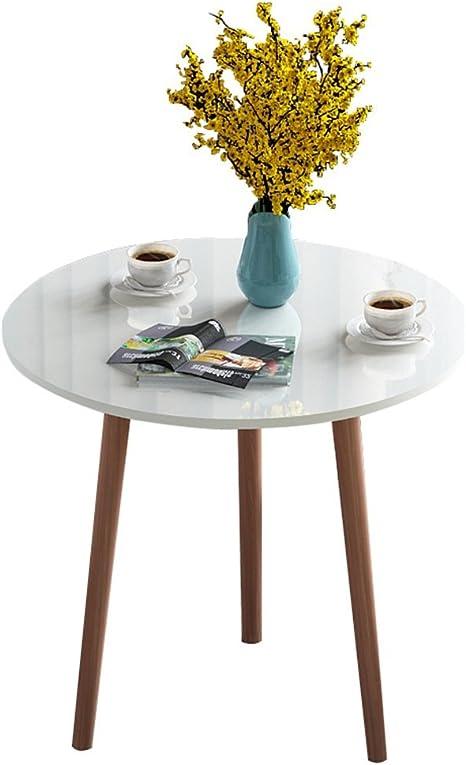 YZjk Tea Shop Mesa de Ocio, Oficina Mesa de negociación Recepción Reunión Negociación Mesa Redonda pequeña Cafetera Mesa de café 60-80CM Mesa de té (Color: Amarillo, Tamaño: 8075CM): Amazon.es: Hogar