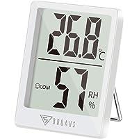 DOQAUS Mini Termómetro Higrómetro Digital, Medidor de Temperatura con 5s de Respuesta Rápida para Temperatura y Humedad…