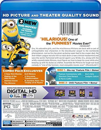025192123634 - Despicable Me 2 [Blu-ray] carousel main 1