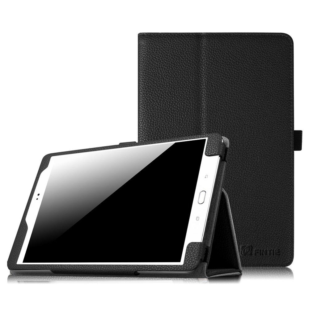 Fintie Folio Case for Samsung Galaxy Tab 4 7.0 - Slim Fit Premium Vegan Leather Cover for Samsung Tab 4 7-Inch Tablet, Black