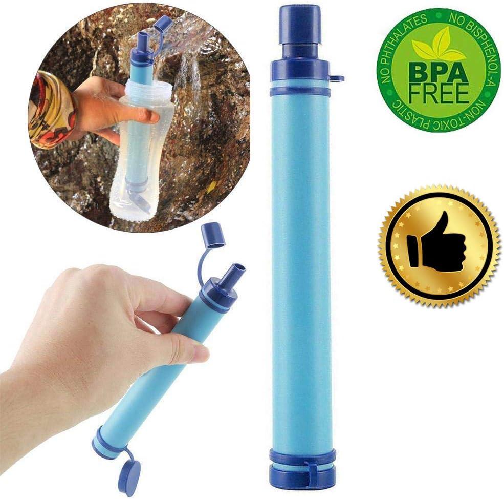 Kempp Filtro De Agua Personal Sistema De FiltracióN Botella De ...