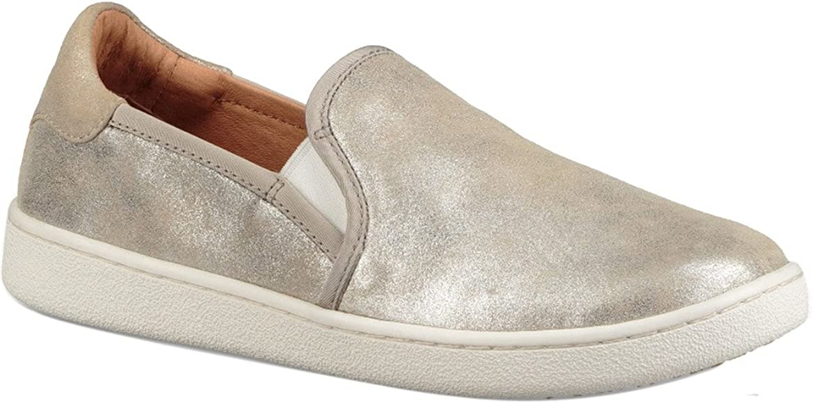 UGG Womens CAS Stardust Loafer Silver