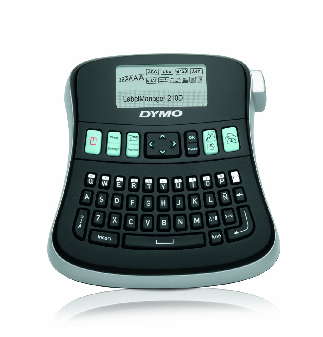 DYMO LabelManager 280 - Impresora de etiquetas (LCD, 102 mm, 205 mm, 57 mm, Windows Vista, 7, XP Mac OS X 10.5+, 89 mm) (importado) S0968960