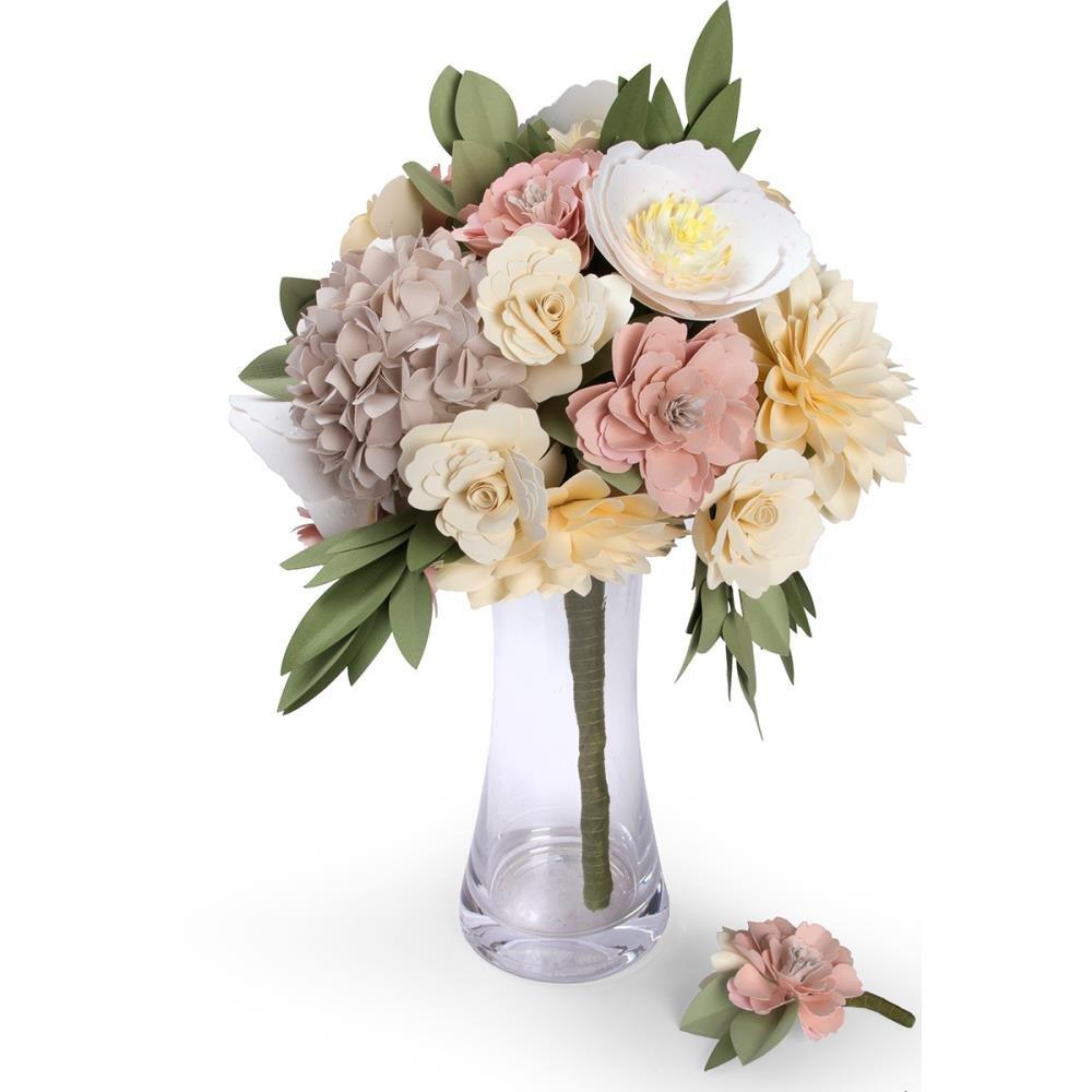 Amazon Sizzix David Tutera Paper Flower Diy Bouquet