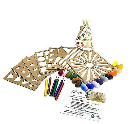 Amazon com: Crayon Rocks Rubeez Creative Art Box for Kids and Adults