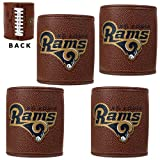 NFL St. Louis Rams Four Piece Football Can Holder Set