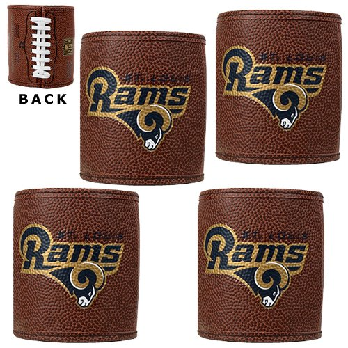 NFL St. Louis Rams Four Piece Football Can Holder Set by Great American Products