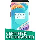 (Certified Refurbished) OnePlus 5T (Midnight Black, 64GB)