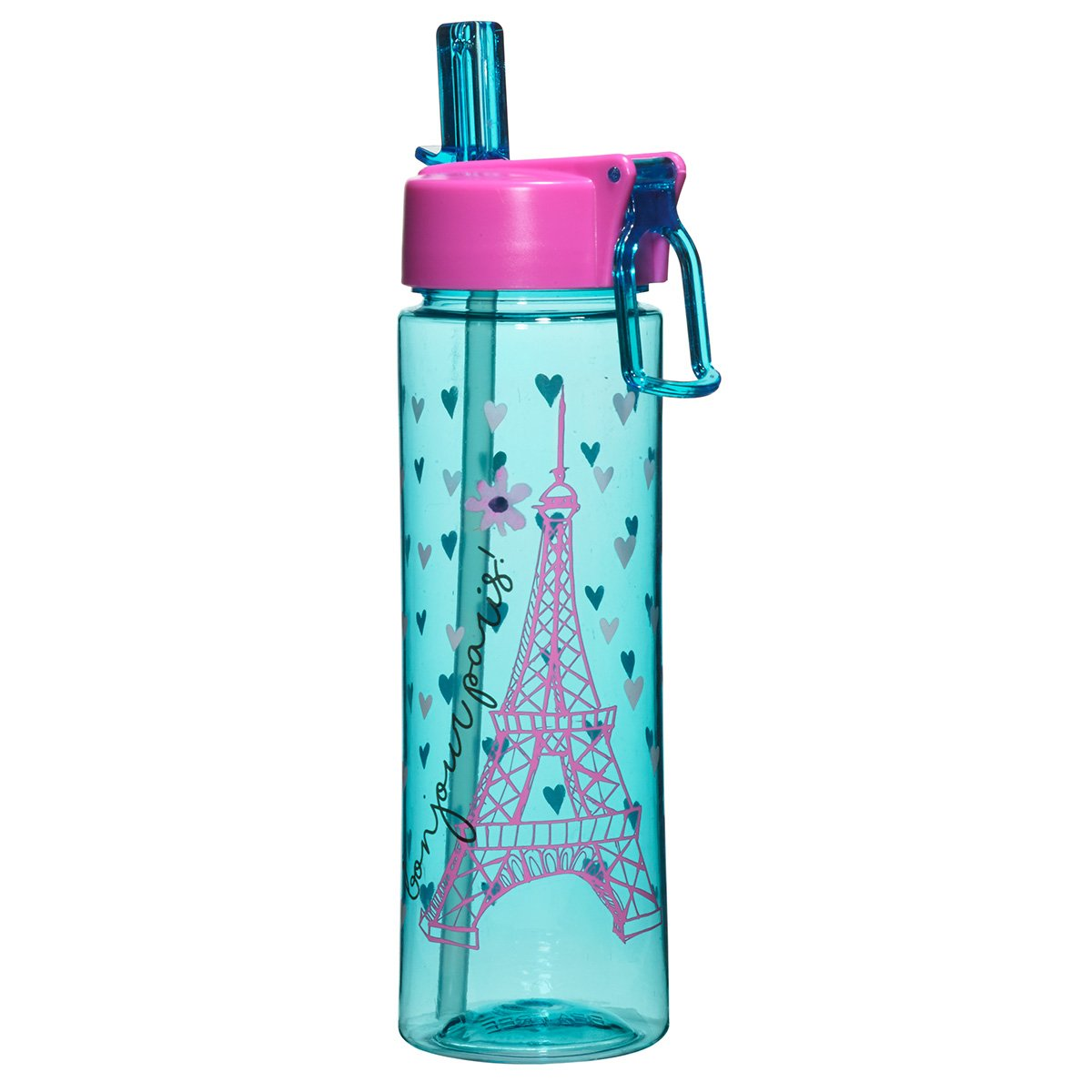 Bonjour Paris Tritan Water Bottle 23246 by 3C4G