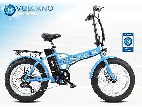 Fat Bike 20 Elettrica Ssc Napoli Official Product Bici Elettrica