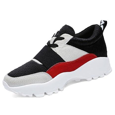 Zapatillas para mujer Zapatos casuales Mujeres Spring Spring Slip On Casual Caminar Running Zapatillas de deporte