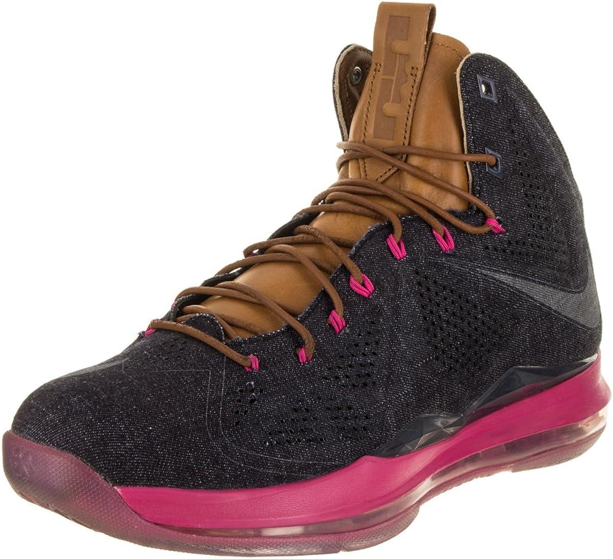 Lebron X EXT Denim QS Basketball Shoe
