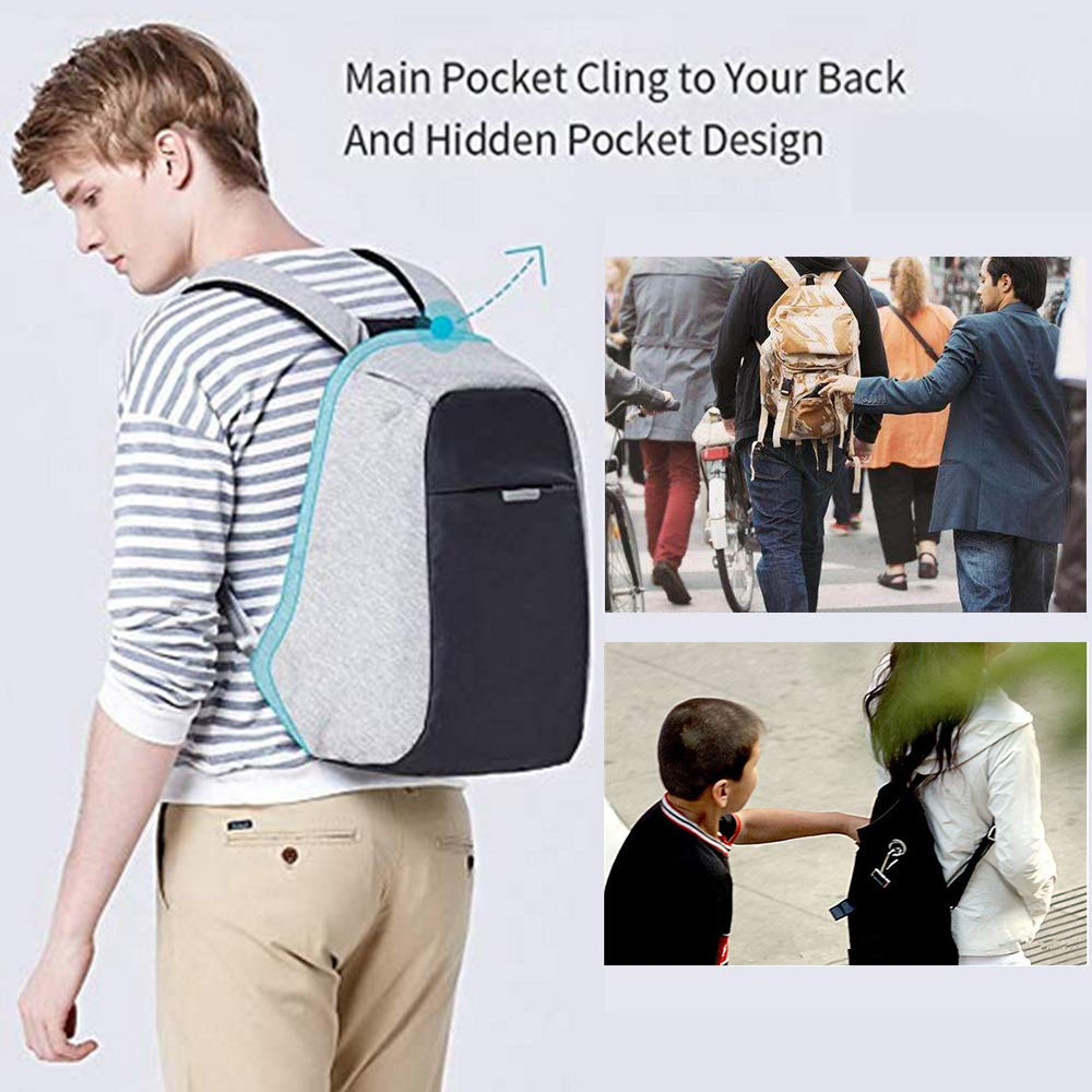cb5287a41635e Amazon.com  Oscaurt Anti-theft Travel Backpack