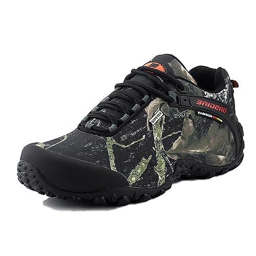 on sale 391a5 00e2e Zapatillas De Trail Running para Hombre Zapatillas Antideslizantes  Antideslizantes Clásicas Zapatillas De Senderismo Zapatos Antideslizantes   Amazon.es  ...