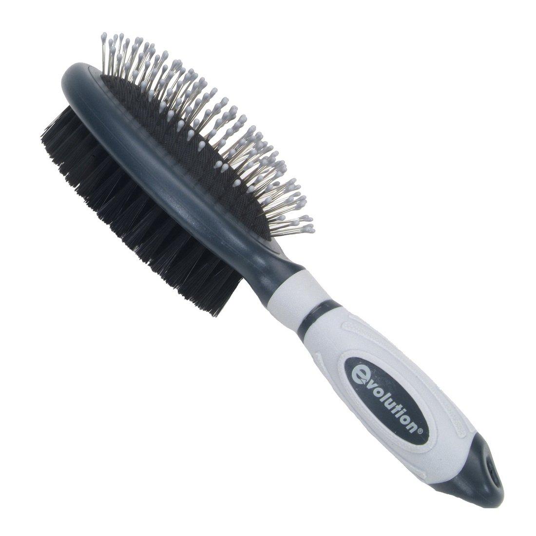 Evolution Pin Bristle Combo Pet Brush  Large 9 5 Long