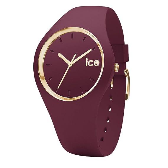 Ice-Watch Reloj Analógico para Mujer de Cuarzo con Correa en Silicona  001610  SK  Amazon.es  Relojes 0efe6383eb19