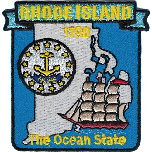 Rhode Island State Map Patch 3