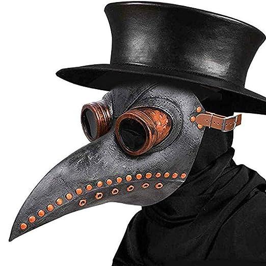 Doctor de Plaga Máscara Nariz Larga Pico de Pájaro Máscara ...