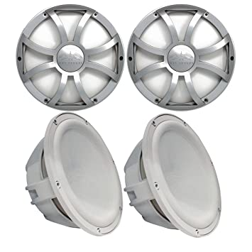 Amazon Com Wet Sounds Two Revo 10 Subwoofers Grills