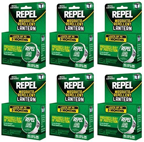 set repel lantern refill cartridge last months replacement