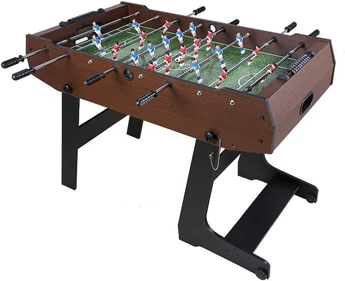 homelikesport Futbolín Juegos de Madera Plegable Fácil de Ensamblar y Almacenar 121*61*85 cm: Amazon.es: Juguetes y juegos
