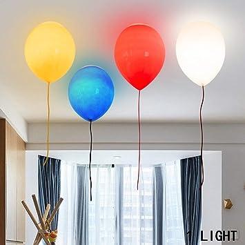 Deckenleuchte Kinderzimmer E | Sed Deckenleuchte Einfache Kinderzimmer Ballon Glas Deckenleuchten