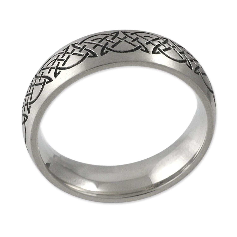 Herr der Ringe Jewelry Uni Ring Edelstahl schwarz 1020 Amazon