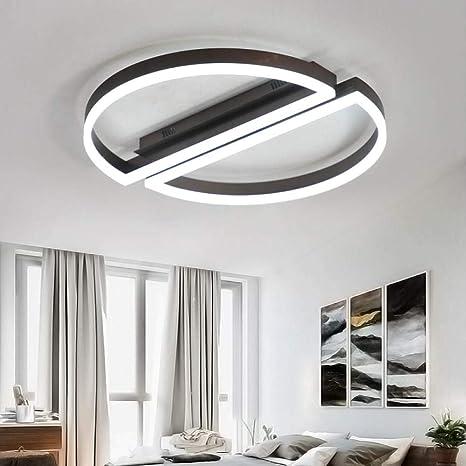 Plafones marrones Creative Aluminium LEDlivingroom ...