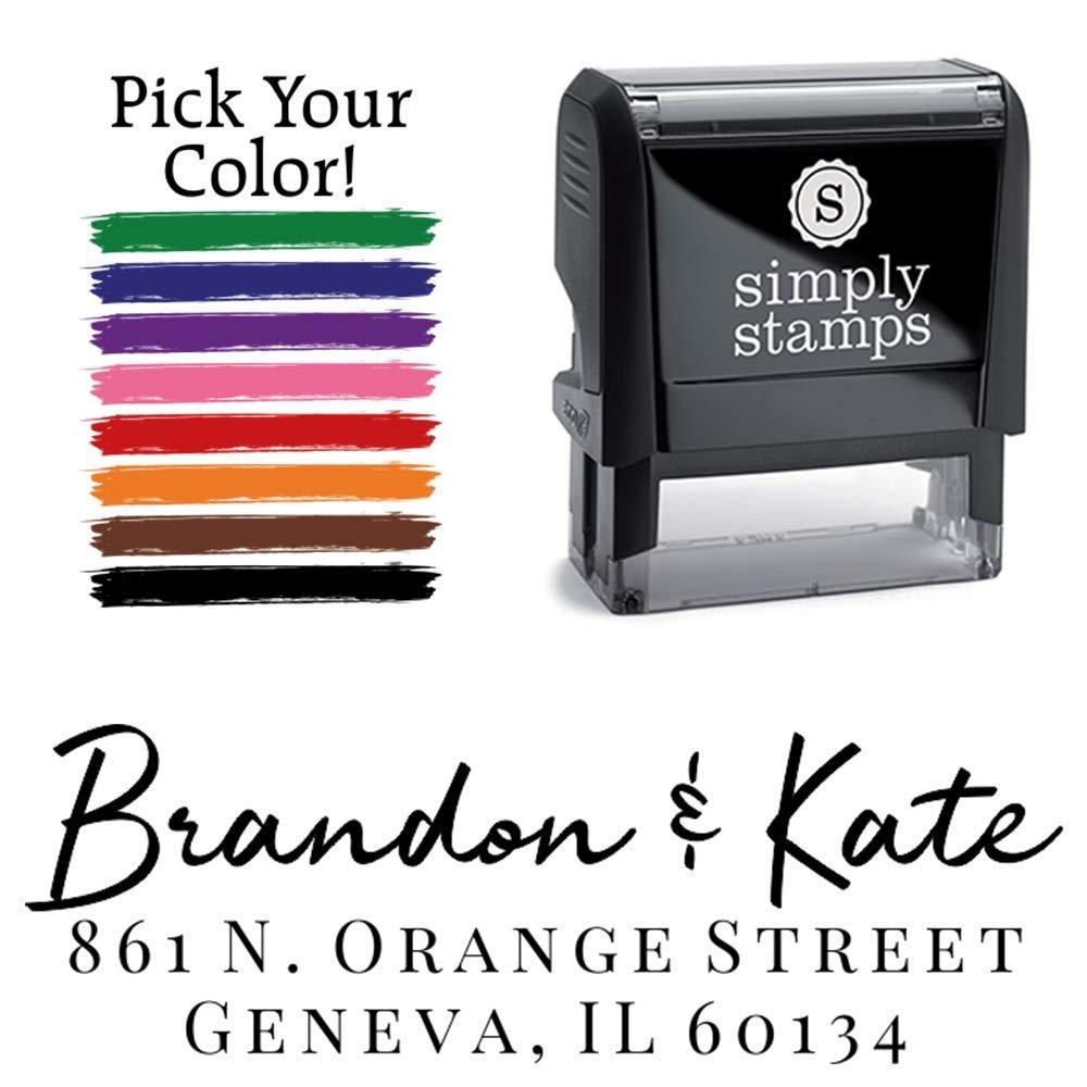 Harrison Personalized Self-Inking Address Stamp Custom Return Address Stamp