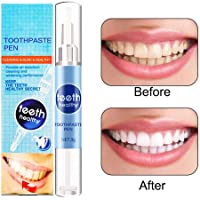 Teeth Whitening Pen Kit, Fimate 2019 Newest Teeth Whitening Gel Pen, Teeth Stain Remover Treatments, No-Sensitivity Teeth Whitener