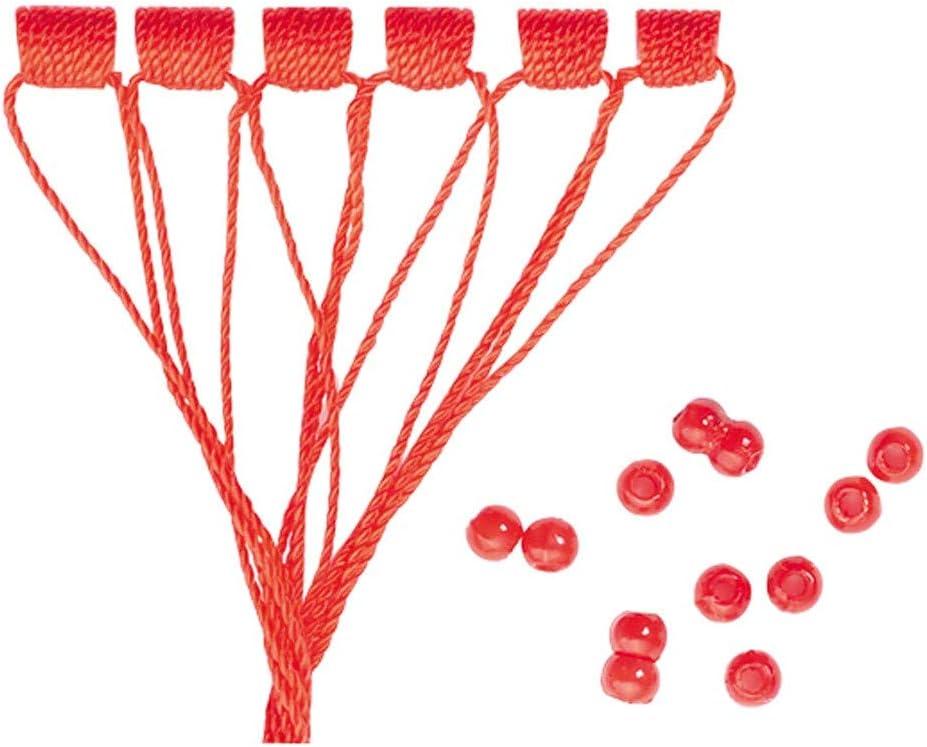 54 Silikon Stopper Perlen Schnurstopper Spirolino Pose Angelzubehör