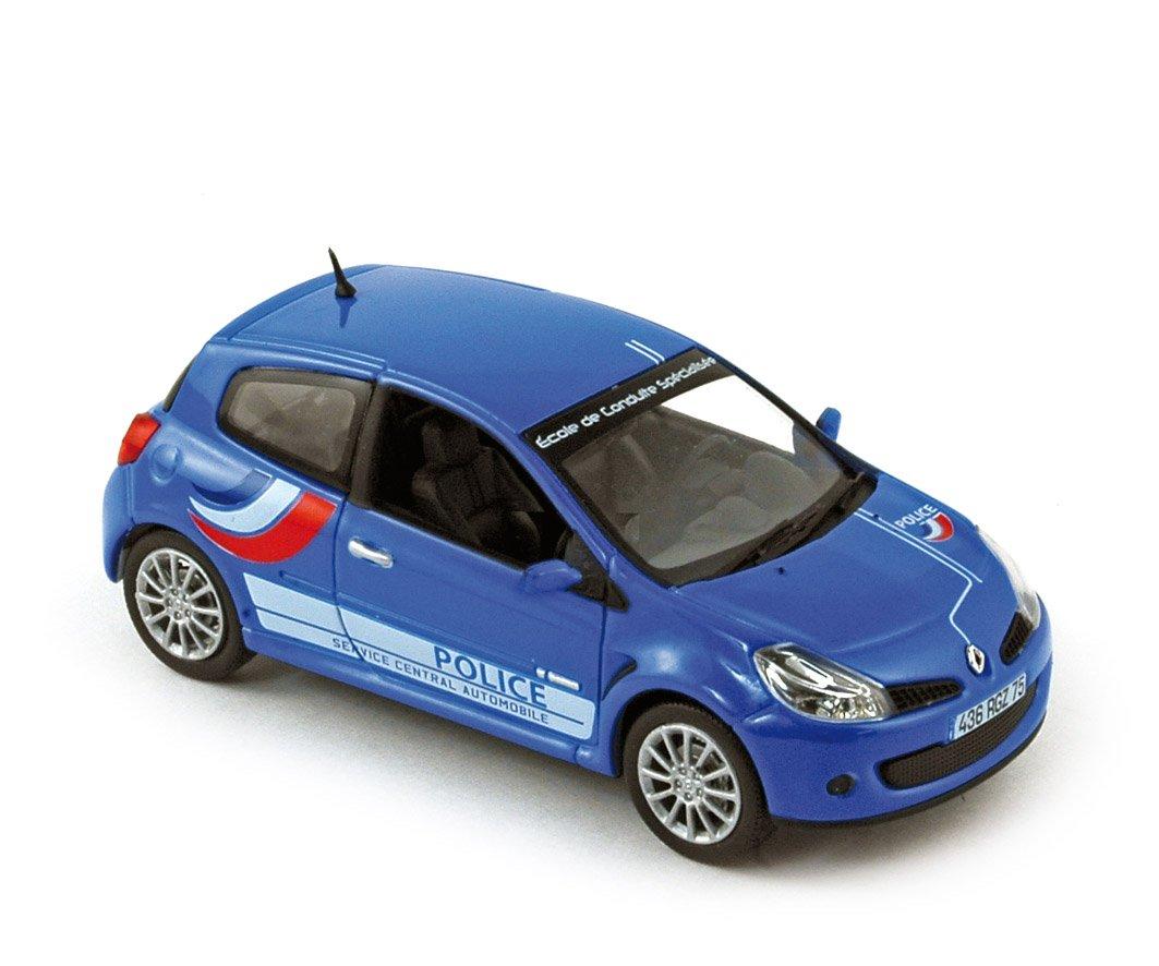 Norev – 517540 – Fahrzeug Miniatur – Renault Clio RS 2007 – Polizei – Echelle – 1/43E